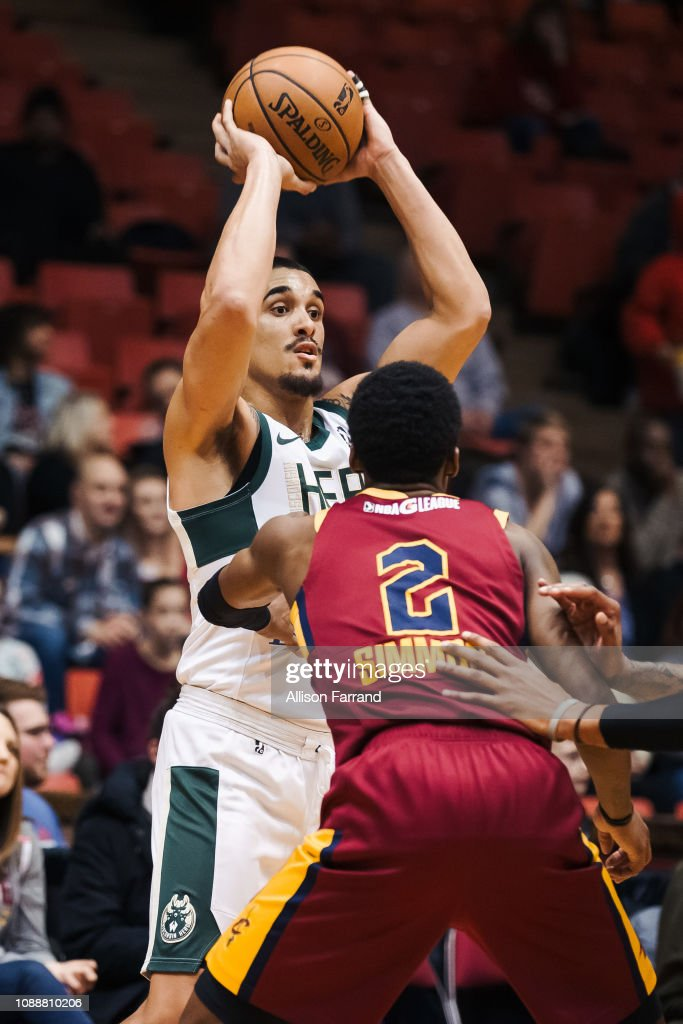Nick Johnson of the Wisconsin Herd looks to pass against ...