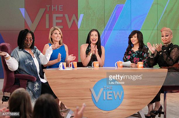 THE VIEW Nick Jonas and Lewis Balck are the guests today Thursday June 11 2015 on Walt Disney Television via Getty Images's The View The View airs...