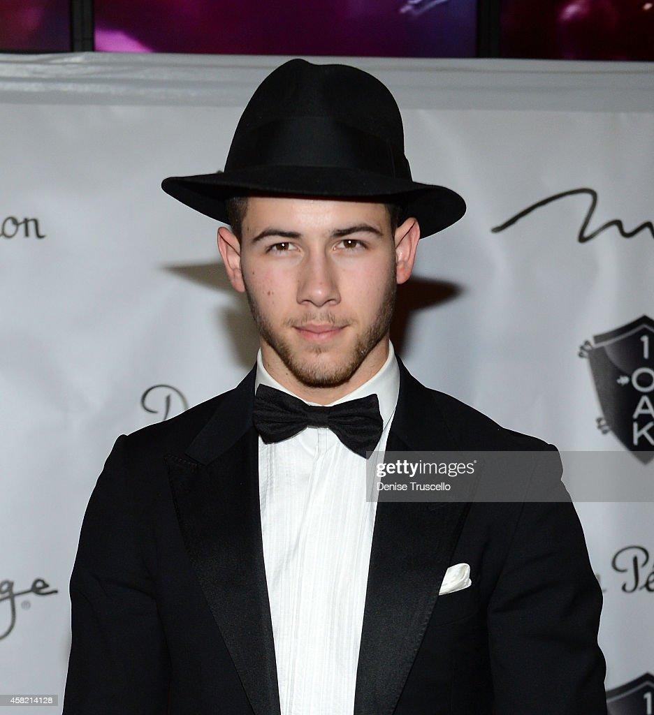 Nick Jonas Hosts Halloween Contest at 1 OAK Nightclub at The ...