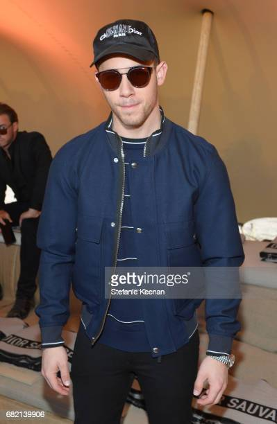 Nick Jonas at Christian Dior Cruise 2018 Show and After Party at Gladstone's Malibu on May 11 2017 in Malibu California