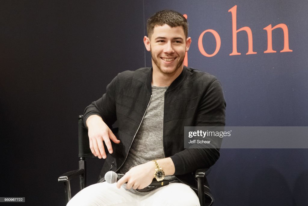 John Varvatos x Nick Jonas In Conversation Celebrating Exclusive Collection At Nordstrom In Chicago