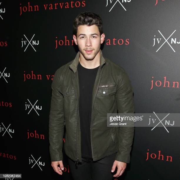 Nick Jonas attends JVxNJ Century City Personal Appearance at Bloomingdales on October 13 2018 in Century City California