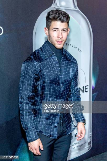Nick Jonas attends Nick Jonas x John Varvatos Villa One Tequila Launch at John Varvatos Bowery NYC on August 29 2019 in New York City