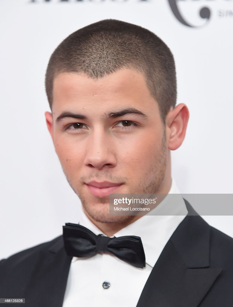 Nick Jonas attends the 2016 Miss America Competition at Boardwalk Hall Arena on September 13, 2015 in Atlantic City, New Jersey.