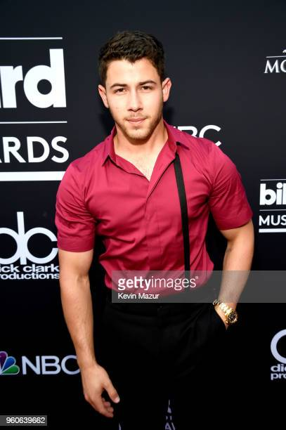 Nick Jonas attends the 2018 Billboard Music Awards at MGM Grand Garden Arena on May 20 2018 in Las Vegas Nevada