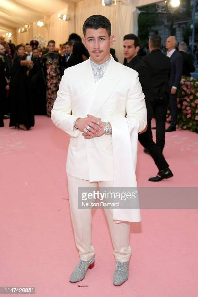 Nick Jonas attends The 2019 Met Gala Celebrating Camp Notes on Fashion at Metropolitan Museum of Art on May 06 2019 in New York City