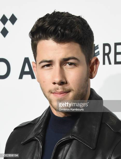 Nick Jonas attends the 4th Annual TIDAL X Brooklyn at Barclays Center of Brooklyn on October 23 2018 in New York City