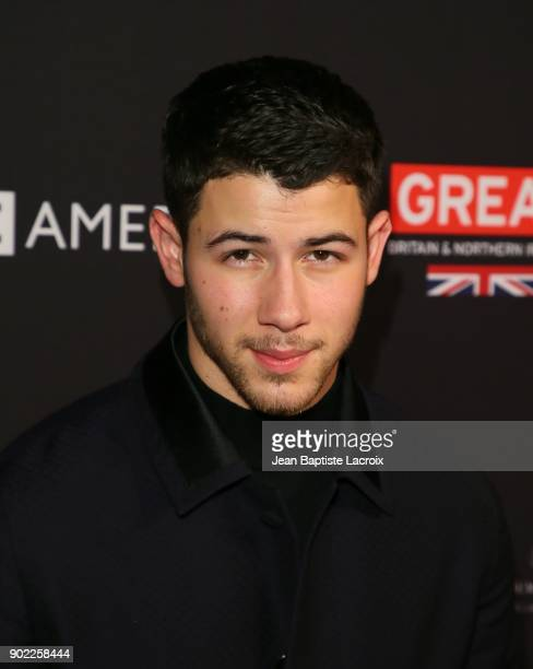 Nick Jonas attends The BAFTA Los Angeles Tea Party at Four Seasons Hotel Los Angeles at Beverly Hills on January 6 2018 in Los Angeles California