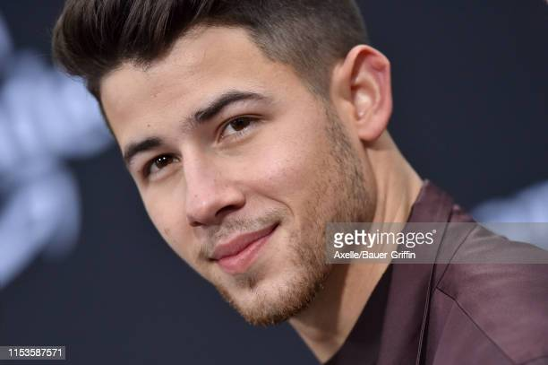 """Nick Jonas attends the premiere of Amazon Prime Video's """"Chasing Happiness"""" at Regency Bruin Theatre on June 03, 2019 in Los Angeles, California."""