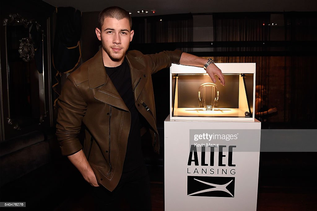 Nick Jonas celebrates his collaboration with Altec Lansing at Up&Down on June 15, 2016 in New York City.