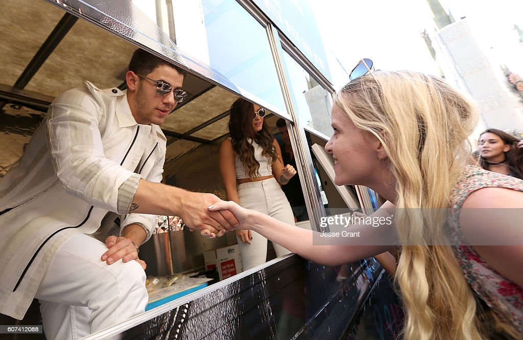 Marriott Rewards Sweet Treats Truck With Demi Lovato Nick Jonas