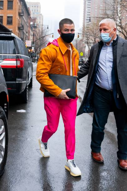 NY: Celebrity Sightings In New York City - February 27, 2021