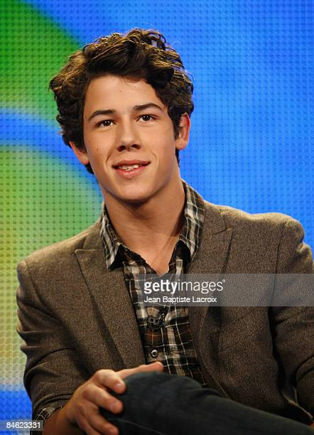 Nick Jonas of The Jonas Brothers of the television show 'Jonas' attend the Disney/ABC Television Group portion of the 2009 Winter Television Critics...