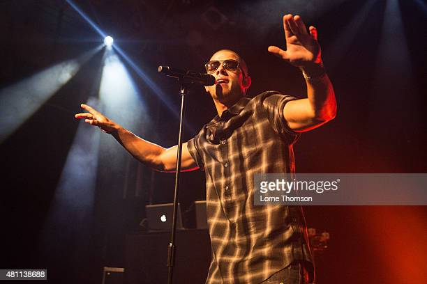 Nick Jonas performs at the O2 Academy Islington on July 17, 2015 in London, England, United Kingdom.