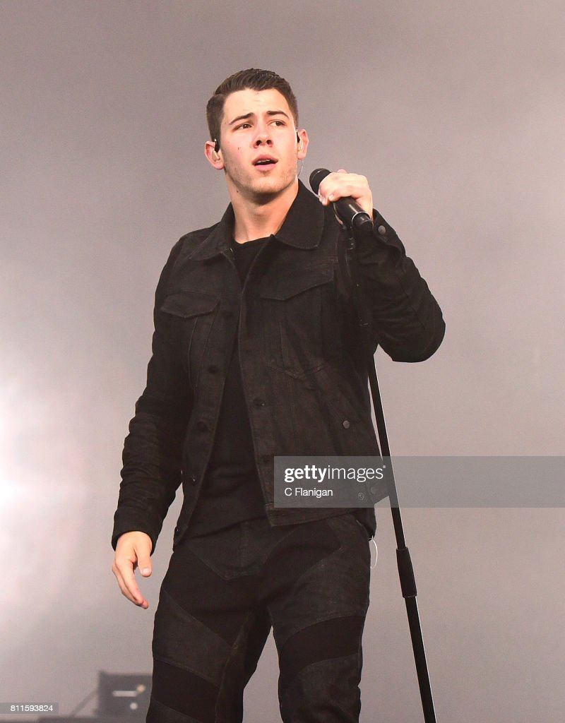 Nick Jonas performs during the 2017 Festival d'ete de Quebec on July 9, 2017 in Quebec City, Canada.
