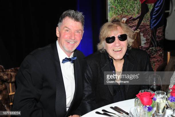 Nick Jordan and Jose Feliciano attend Wells Of Life Charity Benefits At The 8th Annual Better World Awards Event Roc4Humanity at The Loeb Boathouse...