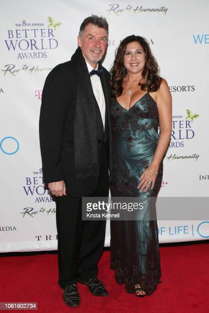 Nick Jordan and Michelle Jordan at Jean Shafiroff and Harry Benson among the Honorees for The Better World Awards Benefiting Wells of Lifeat The Loeb...