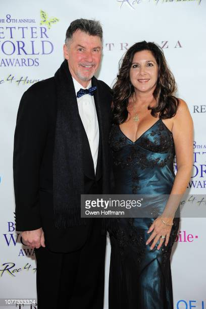 Nick Jordan and Michelle Jordan attend Wells Of Life Charity Benefits At The 8th Annual Better World Awards Event Roc4Humanity at The Loeb Boathouse...