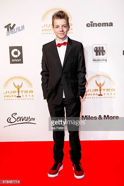 Nick Julius Schuck and smart attend the Jupiter Award 2016 on April 06 2016 in Berlin Germany