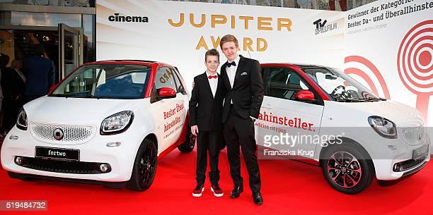 Nick Julius Schuck Timur Bartels attends the smart at the Jupiter Award 2016 in Berlin Germany