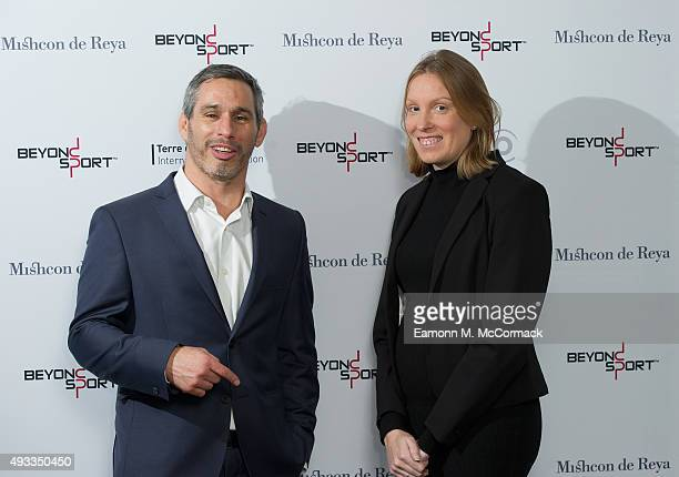 Nick Keller Founder and CEO of Beyond Sport and Tracey Crouch MP Parliamentary Under Secretary of State for Sport Tourism and Heritage at the Beyond...