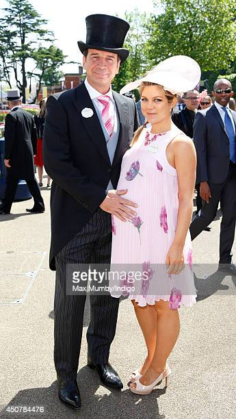 Nick Knowles and Jessica Knowles attend Day 1 of Royal Ascot at Ascot Racecourse on June 17 2014 in Ascot England