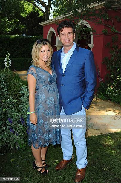 Nick Knowles and Jessica Rose attend the VIP preview day of The Chelsea Flower Show at The Royal Hospital Chelsea on May 19 2014 in London England