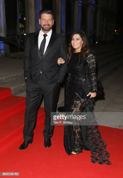 Nick Knowles and Jessica Rose Moor attend the Britain's Got Talent Childline Ball at Old Billingsgate Market on September 28 2017 in London England