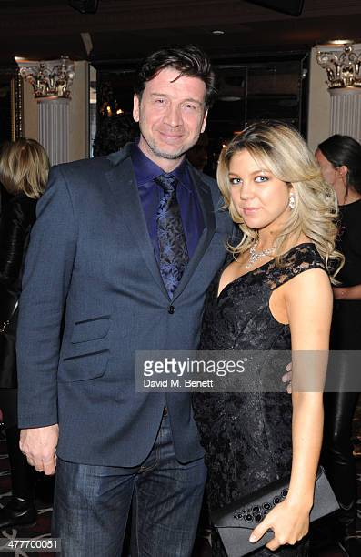 Nick Knowles and Jessica Rose Moor attends the Pig Pledge fundraiser to boycott meat from animal factories hosted by Tracy Worcester at No 41 Mayfair...
