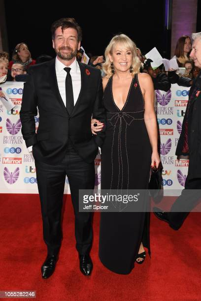 Nick Knowles and Nicki Chapman attend the Pride of Britain Awards 2018 at The Grosvenor House Hotel on October 29 2018 in London England