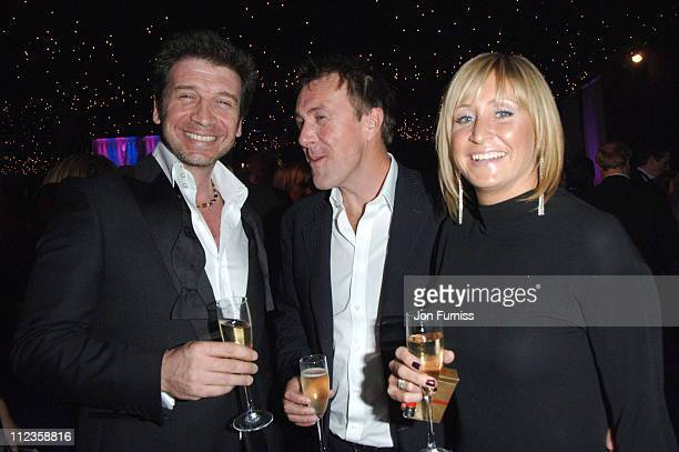 Nick Knowles and Phil Tufnell during Capital Rocks Party Inside at Battersea Park Events Arena in London United Kingdom