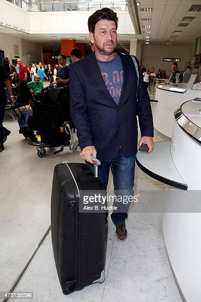 Nick Knowles arrives at Nice Airport ahead of The 68th Annual Cannes Film Festival on May 13 2015 in Nice France