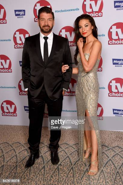 Nick Knowles arrives at the TV Choice Awards at The Dorchester on September 4 2017 in London England