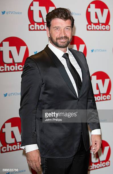 Nick Knowles arrives for the TV Choice Awards at The Dorchester Hotel on September 5 2016 in London England
