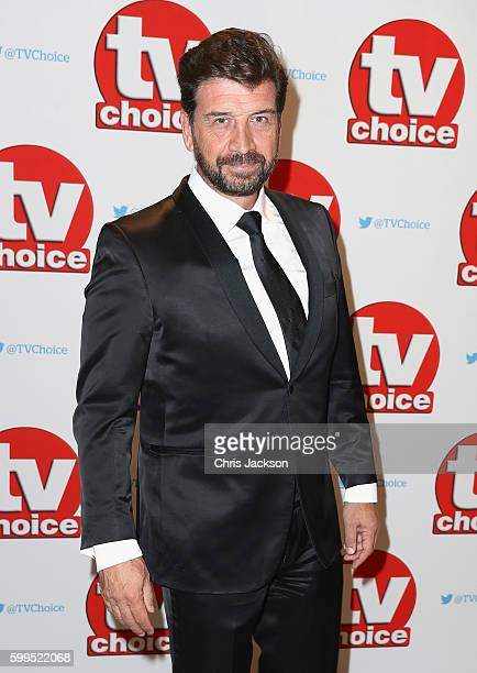 Nick Knowles arrives for the TV Choice Awards at The Dorchester on September 5 2016 in London England