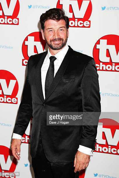 Nick Knowles arrives for the TVChoice Awards at The Dorchester on September 5 2016 in London England