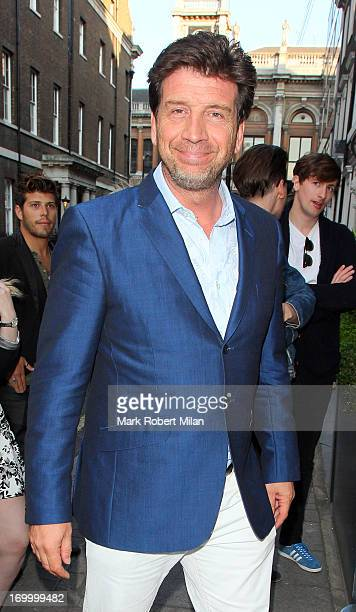 Nick Knowles attending the Retro Feasts launch party on June 5 2013 in London England