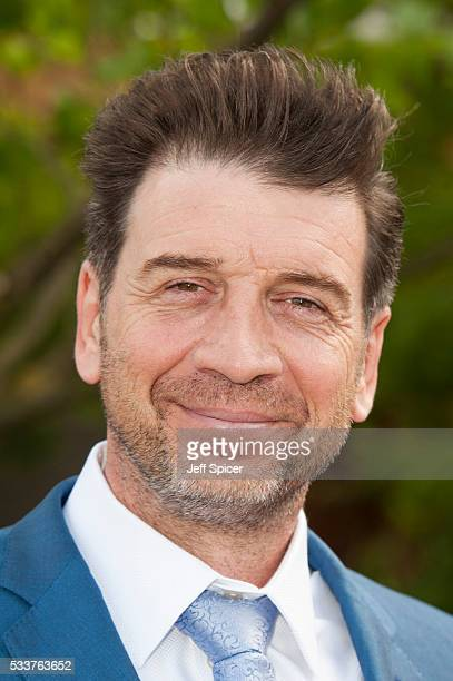 Nick Knowles attends Chelsea Flower Show press day at Royal Hospital Chelsea on May 23 2016 in London England