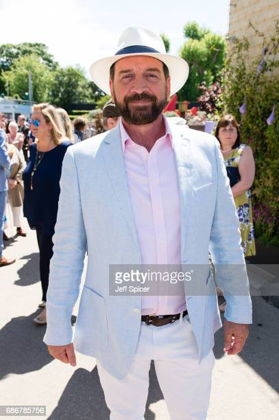 Nick Knowles attends RHS Chelsea Flower Show press day at Royal Hospital Chelsea on May 22 2017 in London England