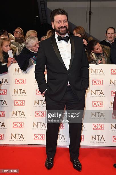 Nick Knowles attends the National Television Awards on January 25 2017 in London United Kingdom