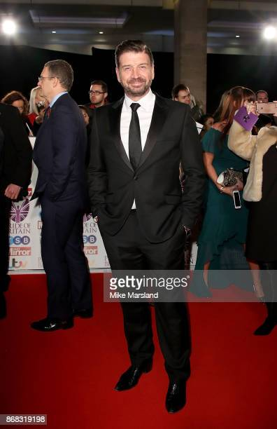 Nick Knowles attends the Pride Of Britain Awards at Grosvenor House on October 30 2017 in London England