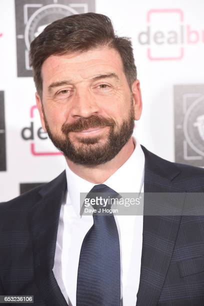 Nick Knowles attends the TRIC Awards 2017 at The Grosvenor House Hotel on March 14 2017 in London England