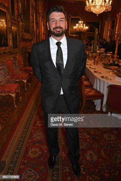 Nick Knowles attends the World Premiere of the Vertex M100 and the reLaunch of Vertex Watches at Apsley House on March 30 2017 in London England