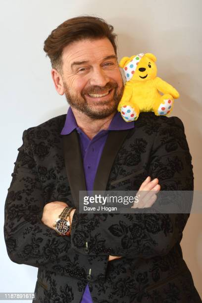 Nick Knowles backstage at BBC Children in Need's 2019 Appeal night at Elstree Studios on November 15 2019 in Borehamwood England
