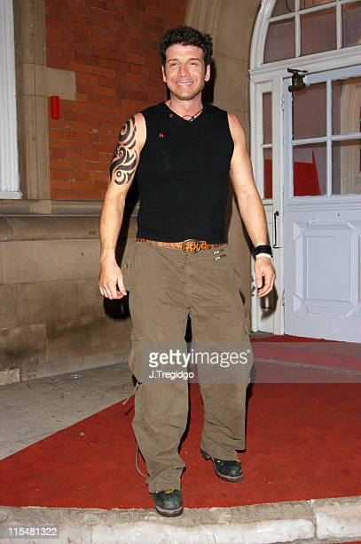 Nick Knowles during Comic Relief Does Fame Academy 2005 Nick Knowles Eviction at Lambeth College in London Great Britain
