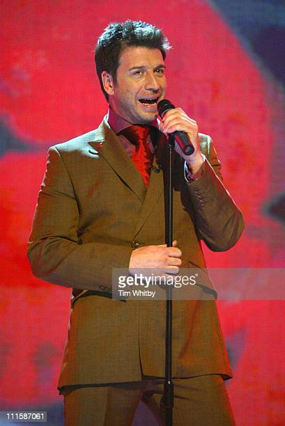 Nick Knowles during Comic Relief Does Fame Academy March 5 2005 at Lambeth College in London England Great Britain