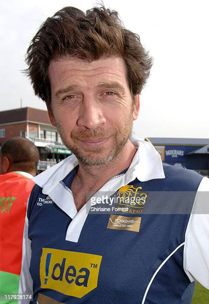 Nick Knowles during the IIFA Charity Celebrity Cricket match at Headingley Stadium Leeds England on June 8 2007