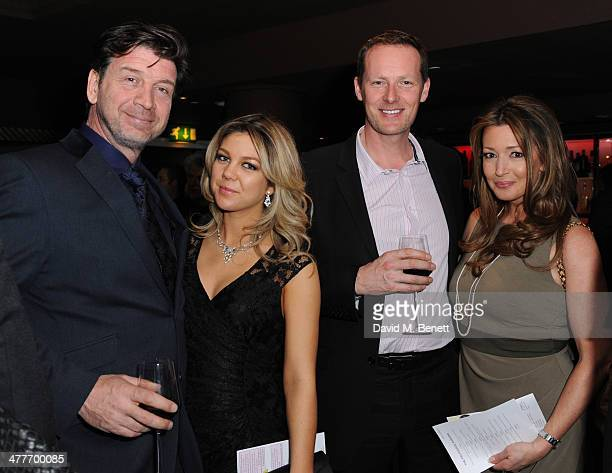 Nick Knowles Jessica Rose Moor and Julia Kendell attends the Pig Pledge fundraiser to boycott meat from animal factories hosted by Tracy Worcester at...