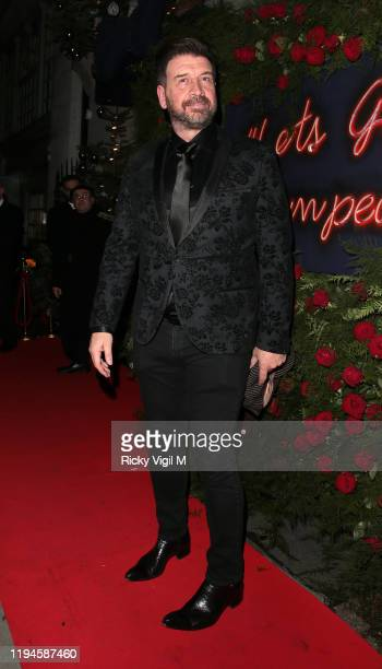 Nick Knowles seen attending Tramp's Christmas Party in celebration of their 50th Anniversary on December 17 2019 in London England