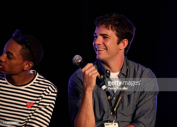 Nick Kocher attends the Variety 10 Comics To Watch Uncensored panel at the Hyatt Regency July 26 2013 in Montreal Canada